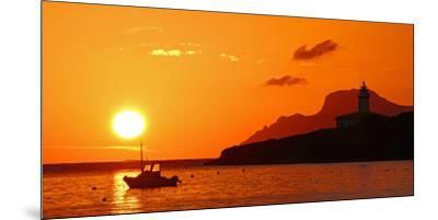 Morning mood at the Lighthouse of Alcanada, Alcudia, Majorca, Balearic Islands, Spain, Mediterranea-Hans-Peter Merten-Mounted Premium Photographic Print