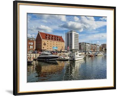 Marina Gdansk, Old Town, Gdansk, Pomeranian Voivodeship, Poland, Europe-Karol Kozlowski-Framed Photographic Print
