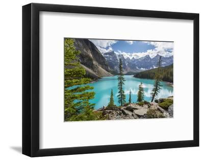 Moraine Lake and the Valley of the Ten Peaks, Banff National Park, UNESCO World Heritage Site, Cana-Frank Fell-Framed Photographic Print