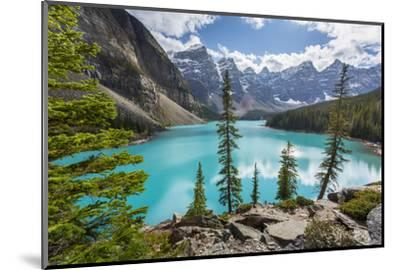 Moraine Lake and the Valley of the Ten Peaks, Banff National Park, UNESCO World Heritage Site, Cana-Frank Fell-Mounted Photographic Print
