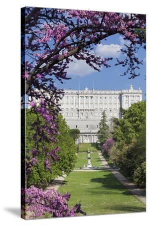 Campo del Moro Park, Royal Palace (Palacio Real), Madrid, Spain, Europe-Markus Lange-Stretched Canvas Print
