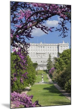 Campo del Moro Park, Royal Palace (Palacio Real), Madrid, Spain, Europe-Markus Lange-Mounted Photographic Print