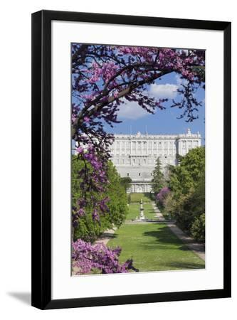 Campo del Moro Park, Royal Palace (Palacio Real), Madrid, Spain, Europe-Markus Lange-Framed Photographic Print