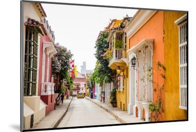 Old Town, Cartegena, Colombia, South America-Laura Grier-Mounted Photographic Print