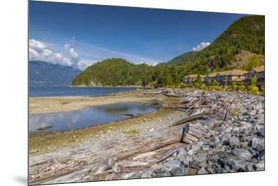 View of How Sound at Furry Creek off The Sea to Sky Highway near Squamish, British Columbia, Canada-Frank Fell-Mounted Photographic Print