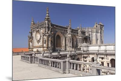 Convento de Cristi (Convent of Christ) Monastery, UNESCO World Heritage Site, Tomar, Santarem Distr-Markus Lange-Mounted Photographic Print