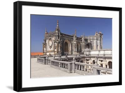 Convento de Cristi (Convent of Christ) Monastery, UNESCO World Heritage Site, Tomar, Santarem Distr-Markus Lange-Framed Photographic Print