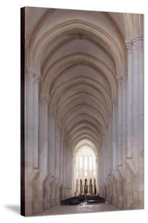 Mosteiro Santa Maria de Alcobaca Monastery, UNESCO World Heritage Site, Alcobaca, Estremadura, Port-Markus Lange-Stretched Canvas Print