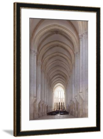 Mosteiro Santa Maria de Alcobaca Monastery, UNESCO World Heritage Site, Alcobaca, Estremadura, Port-Markus Lange-Framed Photographic Print