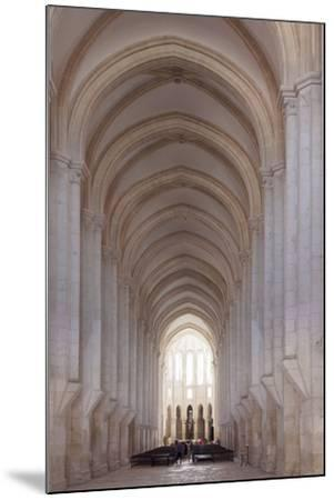 Mosteiro Santa Maria de Alcobaca Monastery, UNESCO World Heritage Site, Alcobaca, Estremadura, Port-Markus Lange-Mounted Photographic Print
