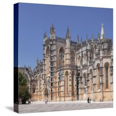 Mosteiro da Santa Maria da Vitoria (Monastery of St. Mary of the Victory), UNESCO World Heritage Si-Markus Lange-Stretched Canvas Print