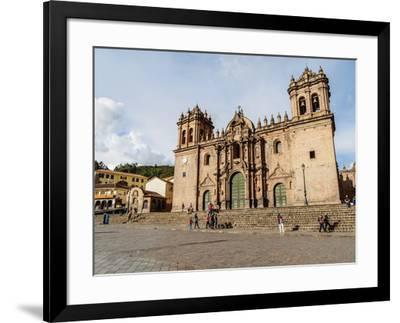 Cathedral of Cusco, UNESCO World Heritage Site, Cusco, Peru, South America-Karol Kozlowski-Framed Photographic Print