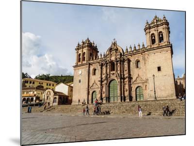 Cathedral of Cusco, UNESCO World Heritage Site, Cusco, Peru, South America-Karol Kozlowski-Mounted Photographic Print