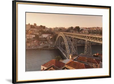 Ponte Dom Luis I Bridge, UNESCO World Heritage Site, Douro River, Porto (Oporto), Portugal, Europe-Markus Lange-Framed Photographic Print