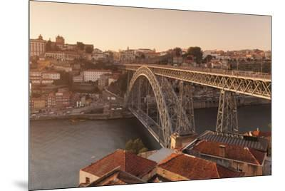 Ponte Dom Luis I Bridge, UNESCO World Heritage Site, Douro River, Porto (Oporto), Portugal, Europe-Markus Lange-Mounted Photographic Print