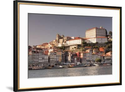 Ribeira District, UNESCO World Heritage Site, Se Cathedral, Palace of the Bishop, Porto (Oporto), P-Markus Lange-Framed Photographic Print