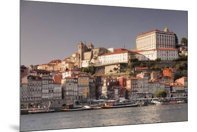 Ribeira District, UNESCO World Heritage Site, Se Cathedral, Palace of the Bishop, Porto (Oporto), P-Markus Lange-Mounted Photographic Print