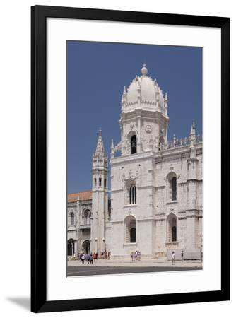 Mosteiro dos Jeronimos (Monastery of the Hieronymites), UNESCO World Heritage Site, Belem, Lisbon, -Markus Lange-Framed Photographic Print