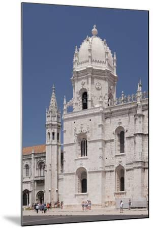 Mosteiro dos Jeronimos (Monastery of the Hieronymites), UNESCO World Heritage Site, Belem, Lisbon, -Markus Lange-Mounted Photographic Print