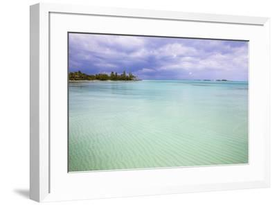 New Plymouth, Green Turtle Cay, Abaco Islands, Bahamas, West Indies, Central America-Jane Sweeney-Framed Photographic Print