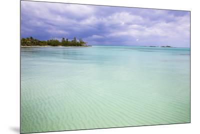 New Plymouth, Green Turtle Cay, Abaco Islands, Bahamas, West Indies, Central America-Jane Sweeney-Mounted Photographic Print