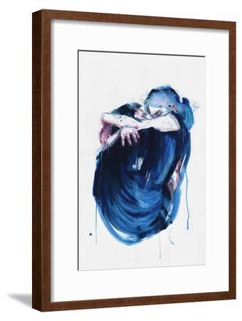 The Noise of the Sea-Agnes Cecile-Framed Art Print