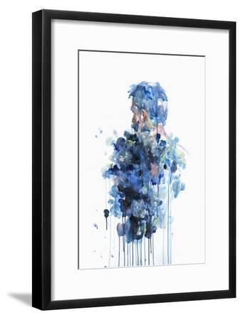 Evaporate-Agnes Cecile-Framed Art Print