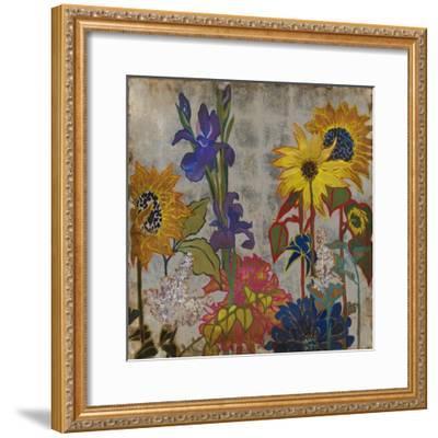 Garden of Earthly Delights-Liz Jardine-Framed Art Print