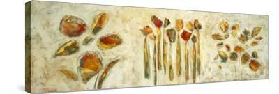 Botanical Trio-Lisa Ridgers-Stretched Canvas Print