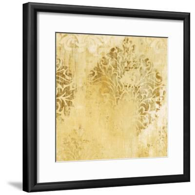 Romantic By Nature Yellow-Liz Jardine-Framed Art Print