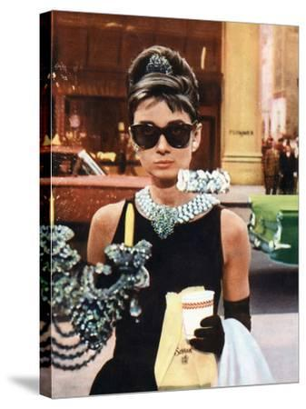 25ee7b6dc408 Breakfast at Tiffany's, Audrey Hepburn, 1961--Stretched Canvas Print