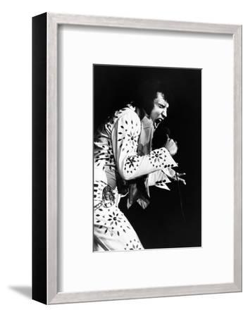 Elvis on Tour, Elvis Presley, 1972--Framed Photo