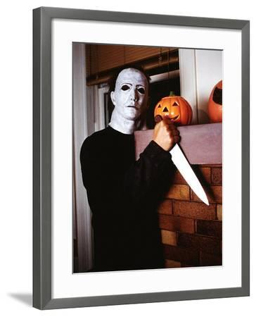 Halloween, Nick CAstle as Mike Myers, 1978--Framed Photo