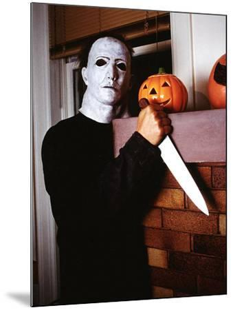 Halloween, Nick CAstle as Mike Myers, 1978--Mounted Photo
