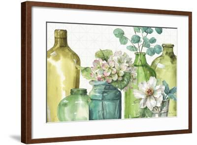 Mixed Greens XLIX-Lisa Audit-Framed Art Print