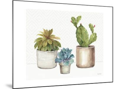 Mixed Greens XLVI-Lisa Audit-Mounted Art Print