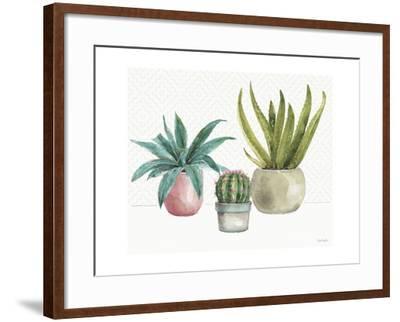 Mixed Greens XLV-Lisa Audit-Framed Art Print