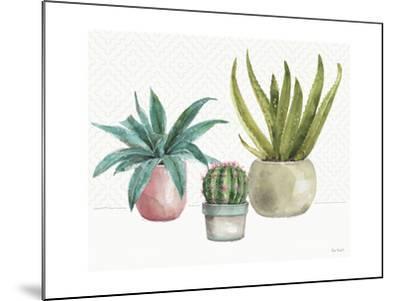 Mixed Greens XLV-Lisa Audit-Mounted Art Print