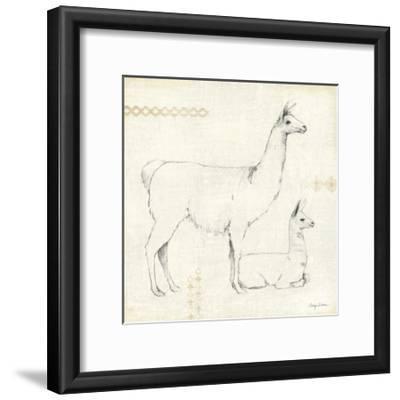Llama Land IX-Avery Tillmon-Framed Art Print