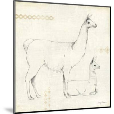 Llama Land IX-Avery Tillmon-Mounted Art Print