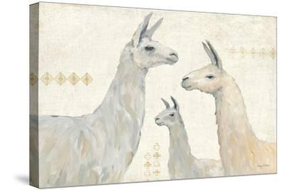 Llama Land IV-Avery Tillmon-Stretched Canvas Print
