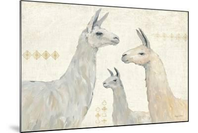 Llama Land IV-Avery Tillmon-Mounted Art Print