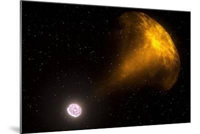 Gamma Ray Burst from Colliding Neutron Stars--Mounted Photographic Print