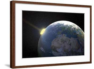 Meteor Impact, Artwork--Framed Photographic Print