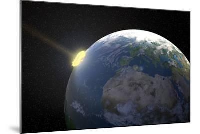 Meteor Impact, Artwork--Mounted Photographic Print