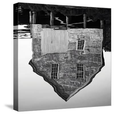 Boathouse-Mary Woodman-Stretched Canvas Print