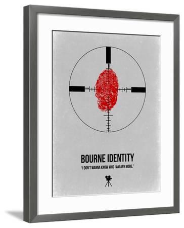 Bourne Identity-NaxArt-Framed Art Print
