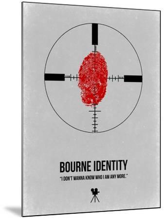 Bourne Identity-NaxArt-Mounted Art Print