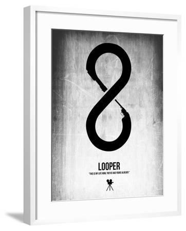 Looper-NaxArt-Framed Art Print