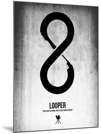 Looper-NaxArt-Mounted Art Print